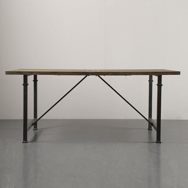 Modern Reclaimed Grey Executive Desk Meeting Table Pinterest - 72 inch conference table