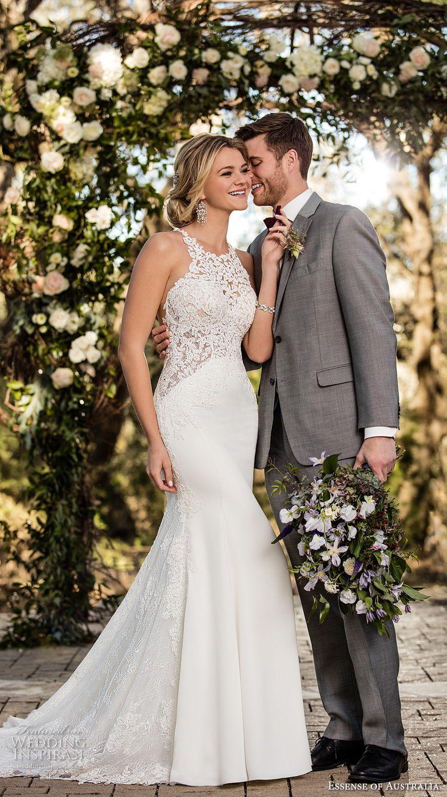 Elegant mermaid wedding dresses  Essense of Australia Fall  Wedding Dresses  Pinterest  Mermaid