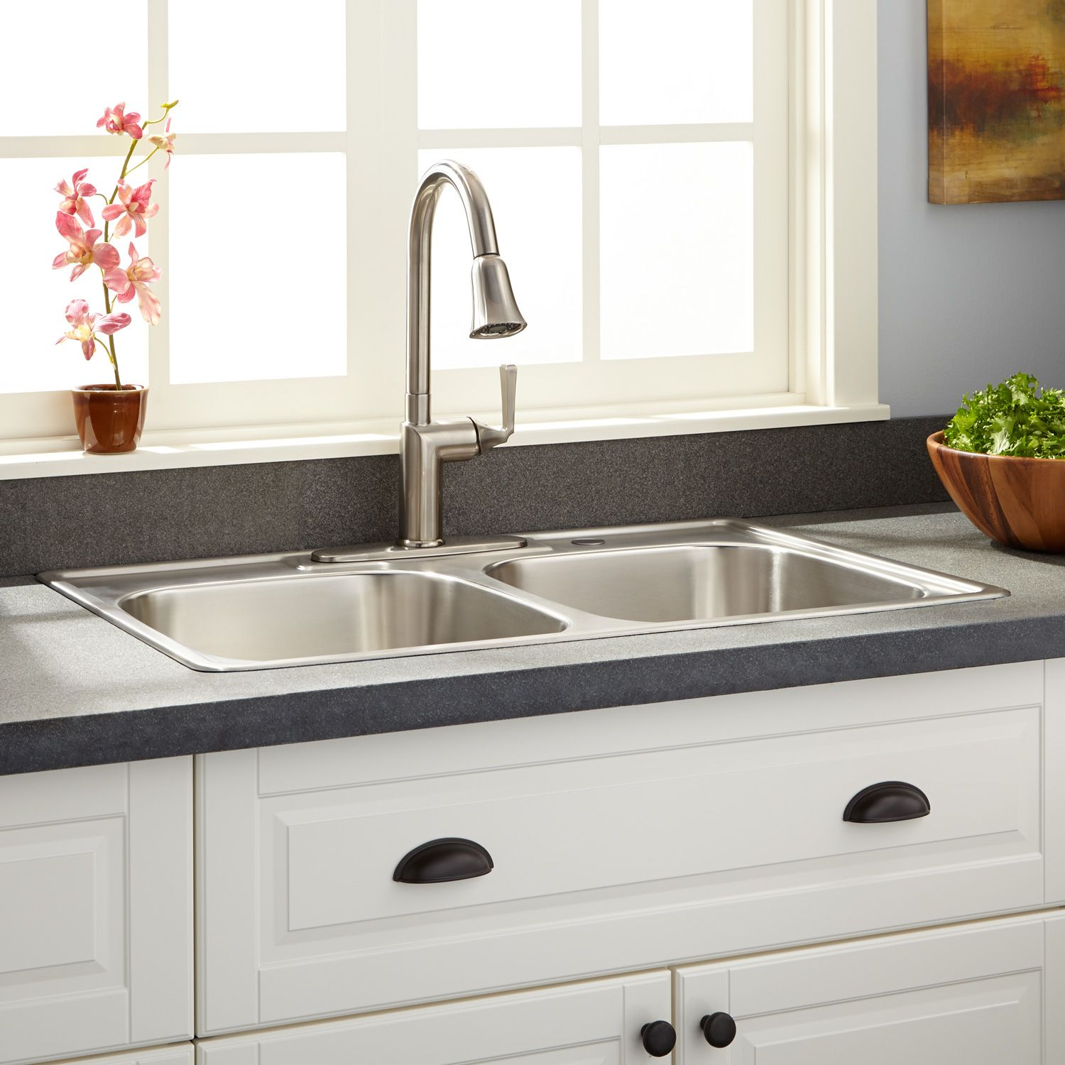 Kitchen Drop In Sinks Stainless Steel