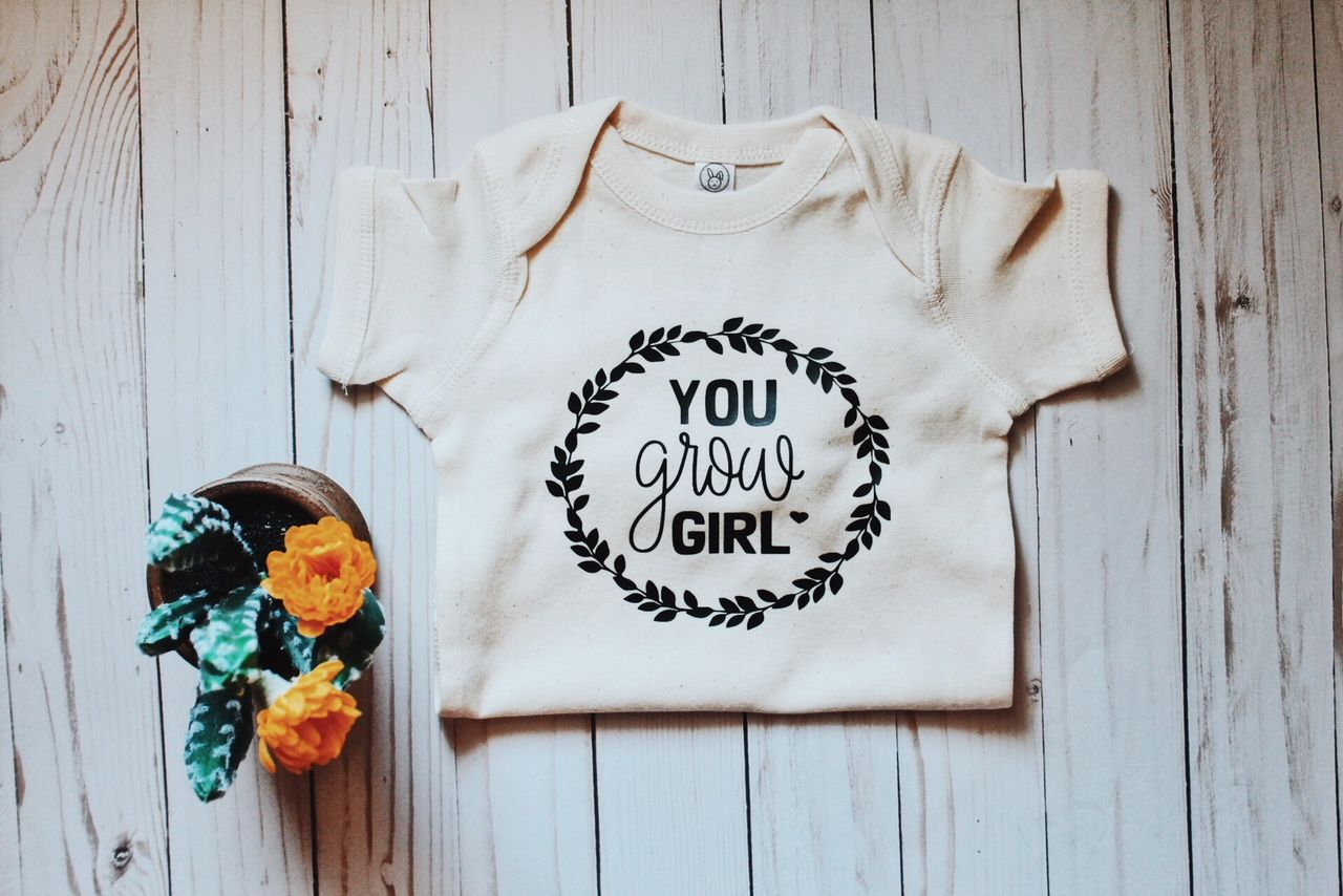 93b4f9ed9 YOU GROW GIRL - KIDS - CUTE TEES - PLANTS - MOM LIFE- MOTHERHOOD - KIDS  APPAREL - CUTE OUTFIT - CUTE BODYSUITS - ONE PIECE - BABY GIRL - HIPPIE BABY  ...