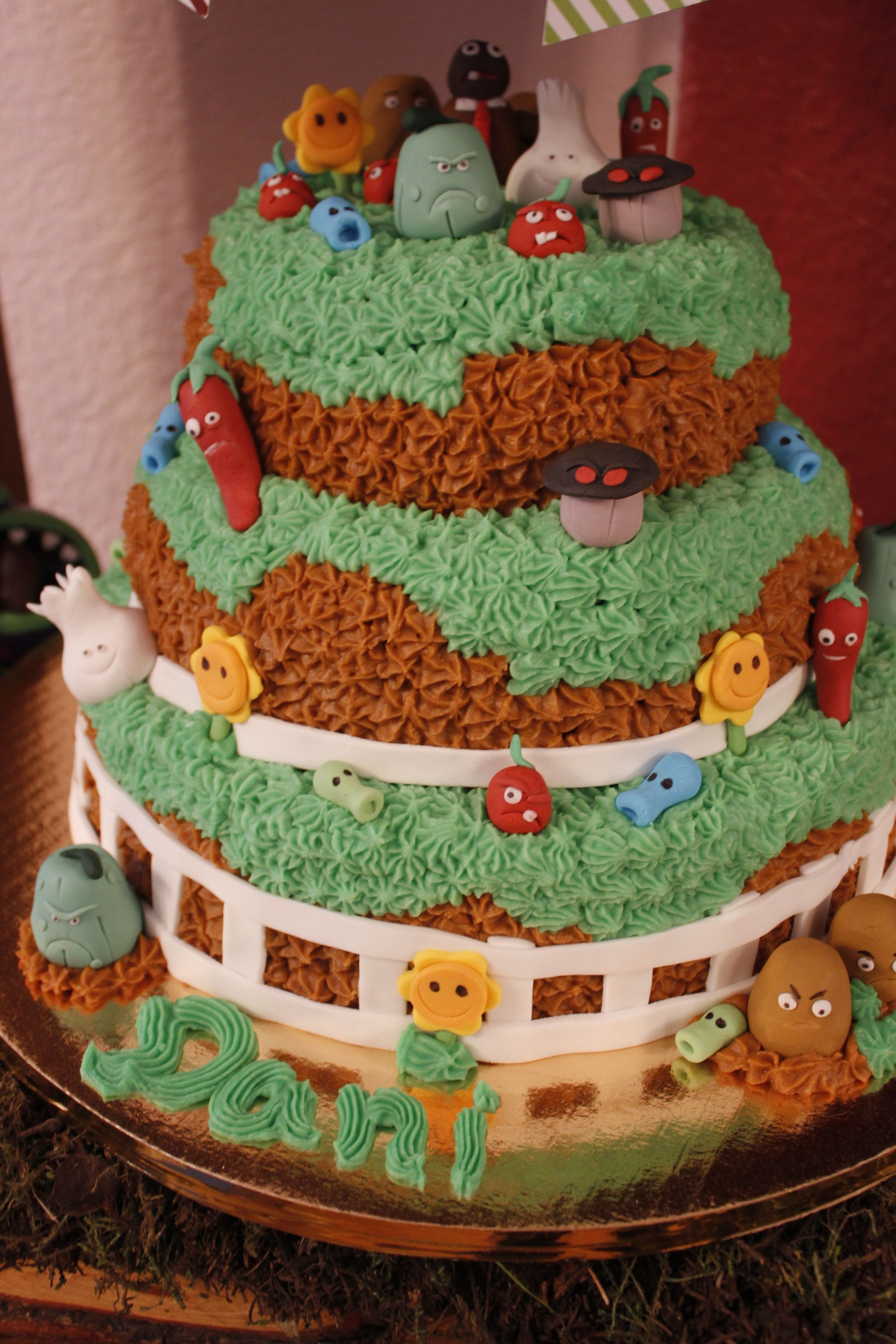 plant vs zombies cake Delicious from dimechikilinescommx