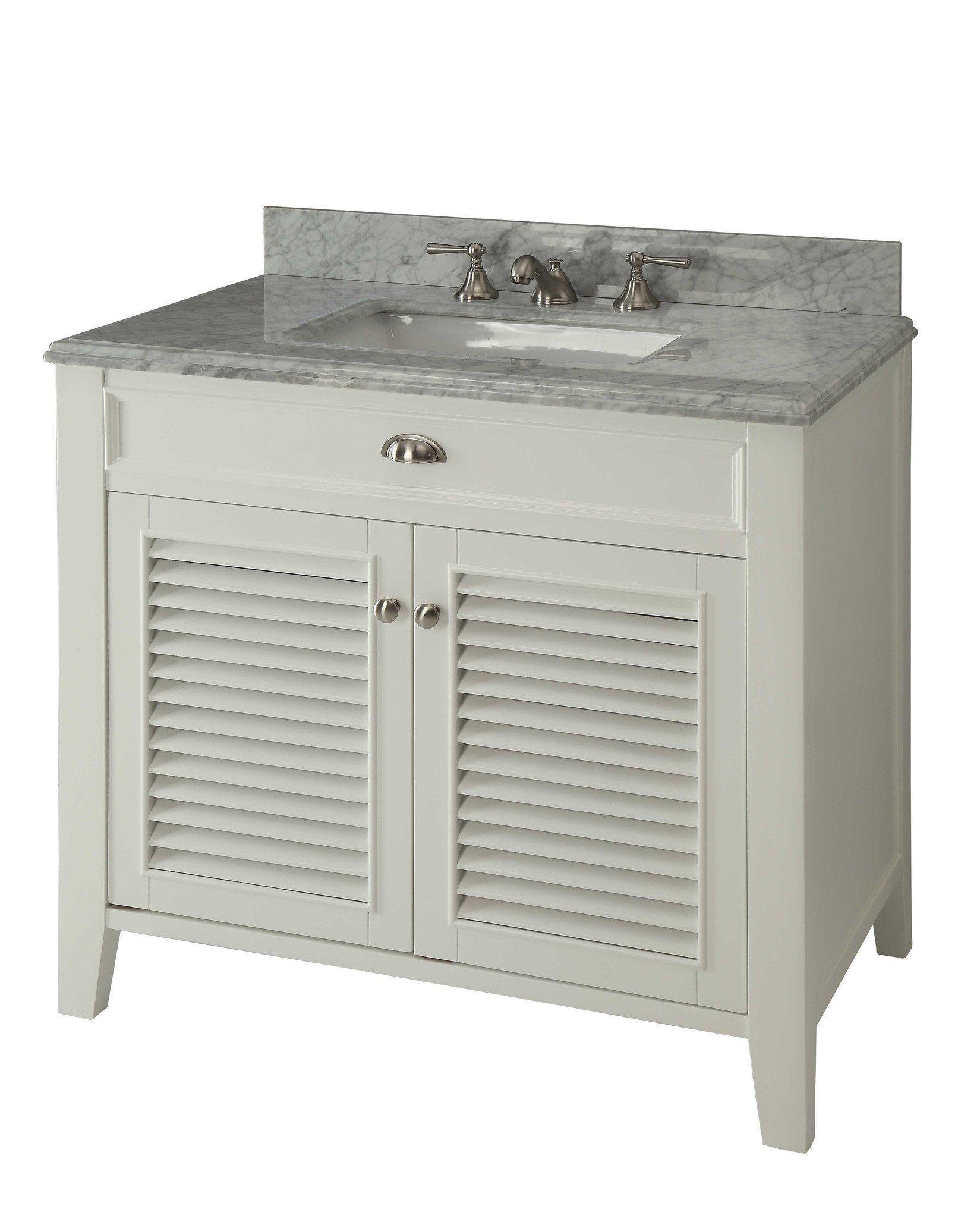 Chans Furniture Yr 3028q 30 Kalani 30 Inch White Bathroom Sink