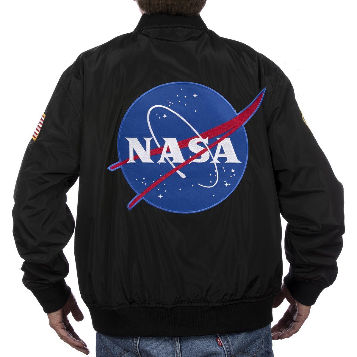 NASA Meatball Patch Bomber Flight Jacket - Intro Sale $99 ...