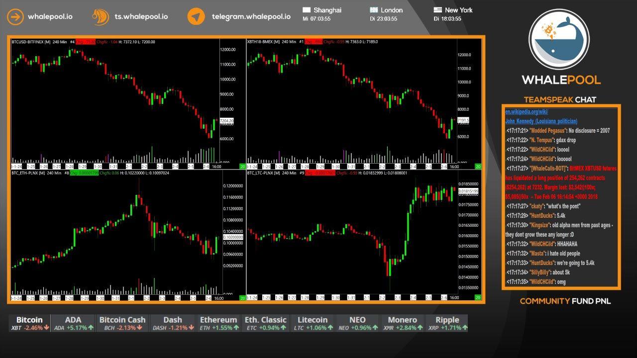 bitcoin trading live stream)