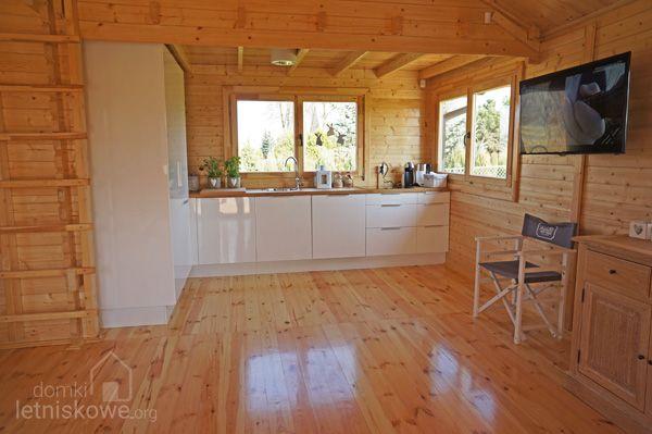 Kuchnia w drewnianym domku letniskowym Sara   -> Kuchnia Sara Sonoma