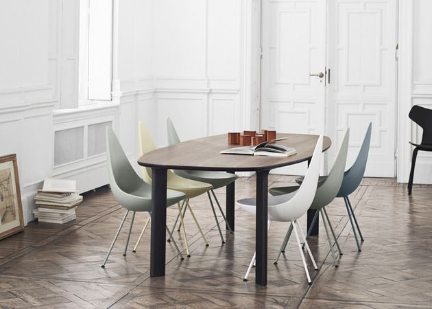 Analog #table and Drop #chair by Jaime Hayon