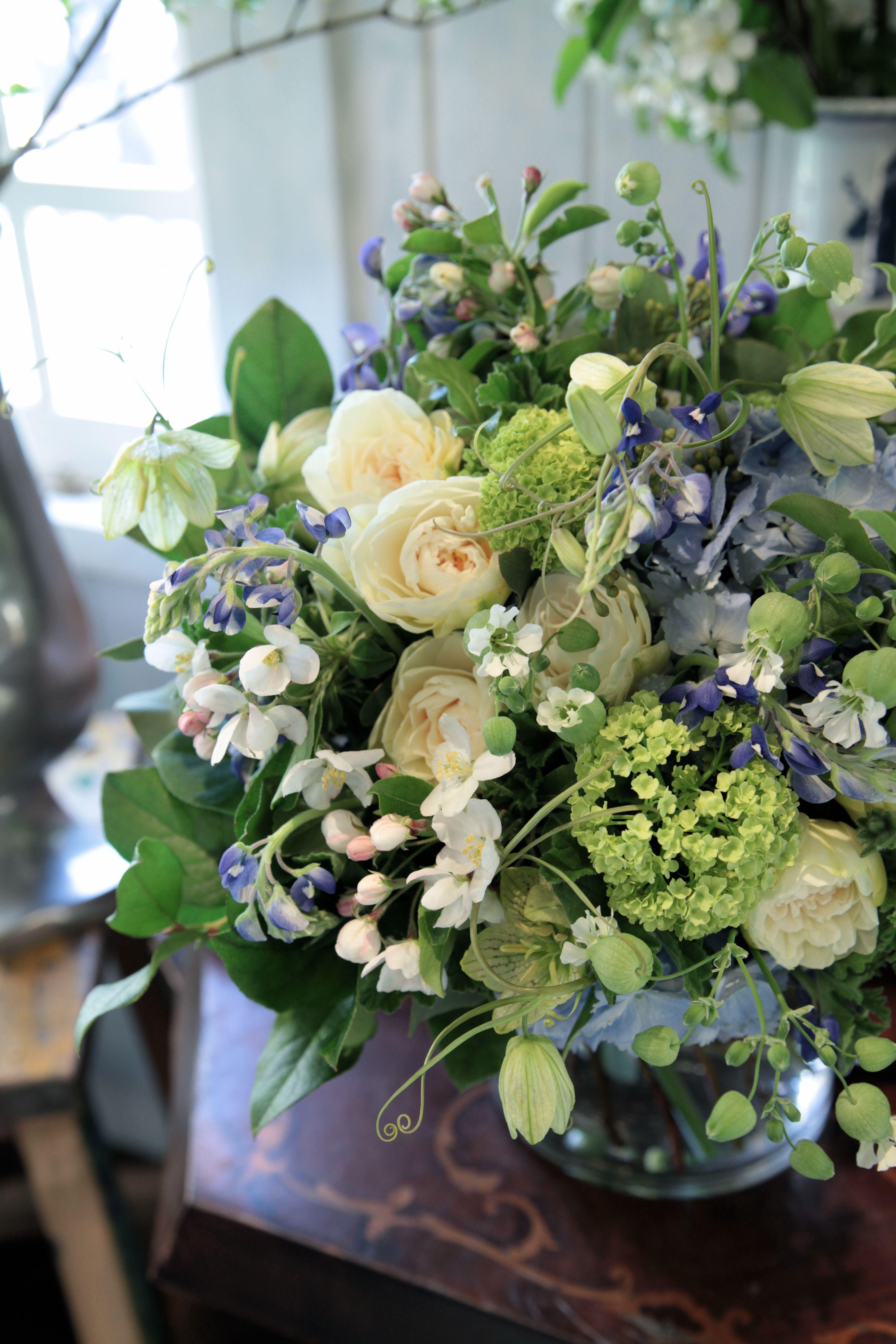 Green Blue White Blue White Pinterest Flowers Flower And