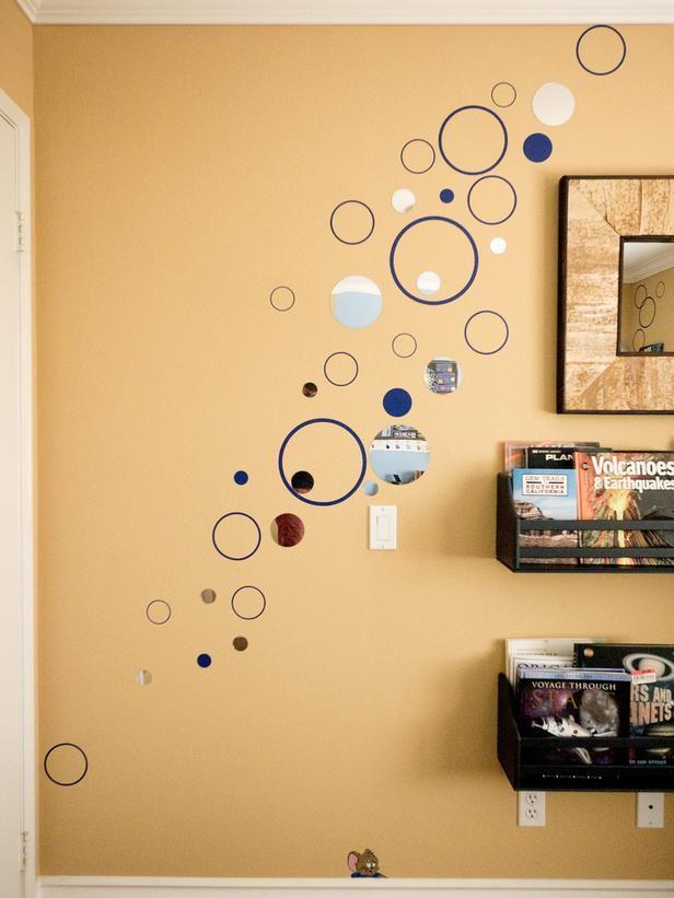 Small Boy\'s Room With Big Storage Needs | Wall decor design, Wall ...