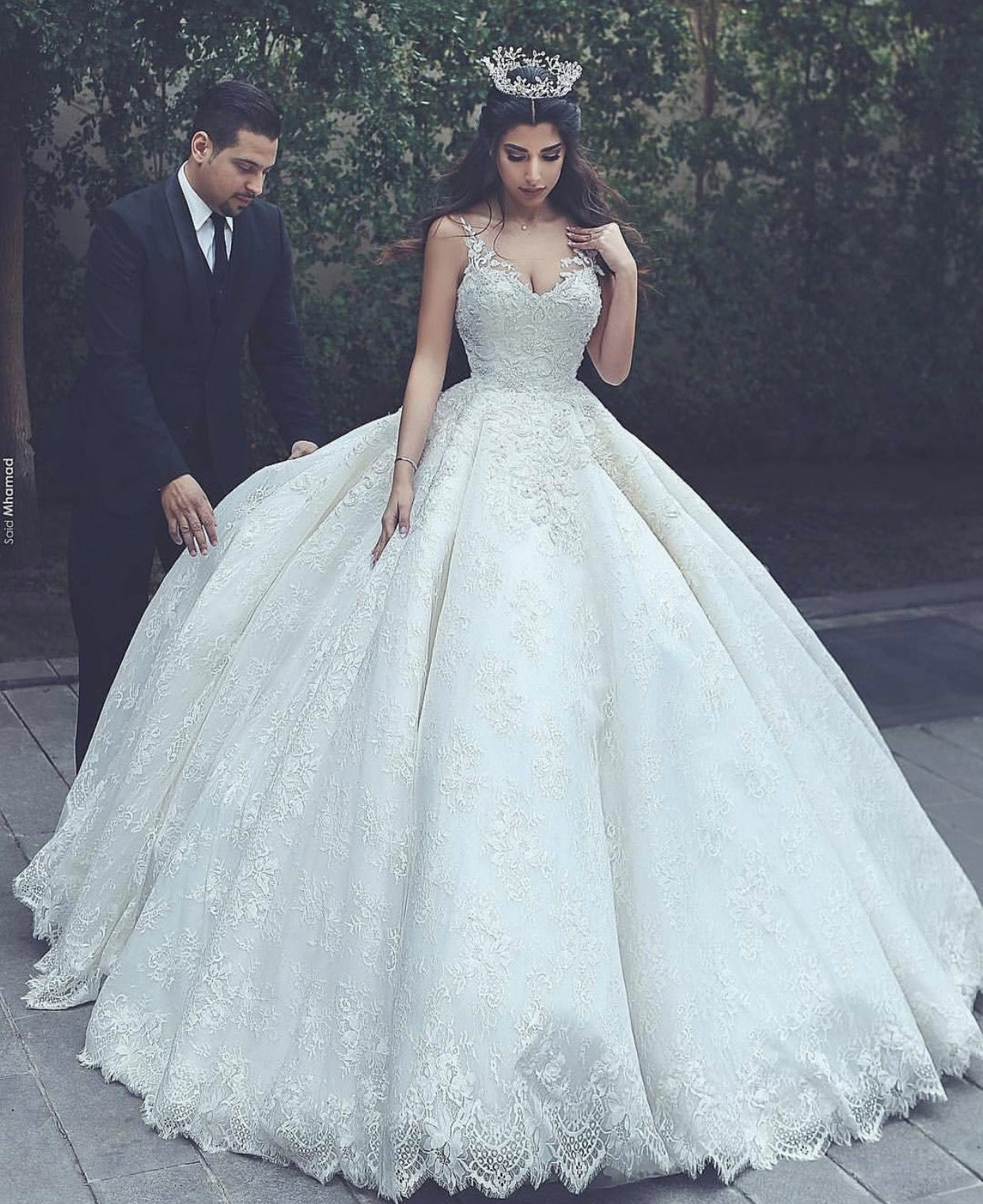 Pin de Emily Victor 👸🏻💋💕 en Wedding Dresses | Pinterest ...