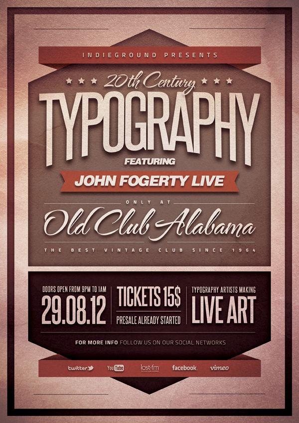 typography poster Typeface  Typography Pinterest Typography