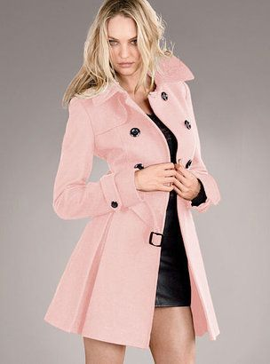 1000  images about A Pink Coat on Pinterest | Coats Eva mendes