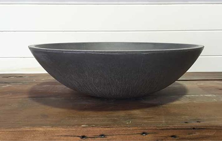 Polished Concrete Vessel Sink Basin Handmade In Burleigh Heads Qld Australia Multiple Colour Options Available