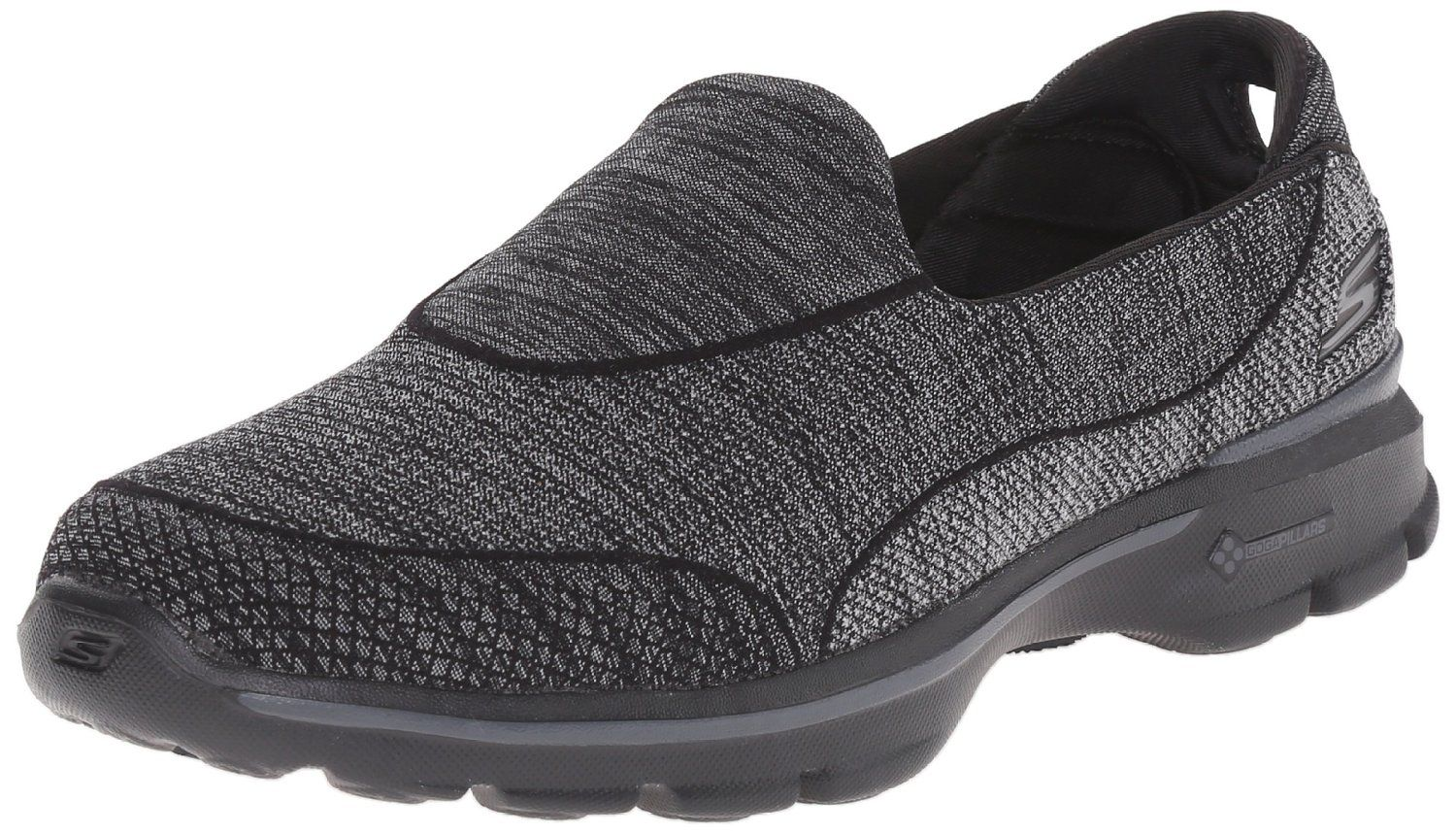 Skechers Damen GO Walk 3 Super Sock 3 Sneakers, Schwarz (Bbk), 35 EU -  Skechers schuhe (*Partner-Link)