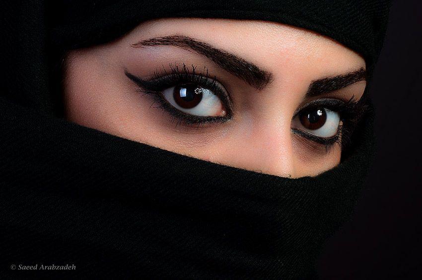 Persian Eyes By Saeed Arabzadeh Via 500px Niqab Eyes Beauty