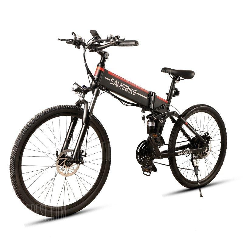 Samebike Lo26 Moped Electric Bike Smart Folding Bike