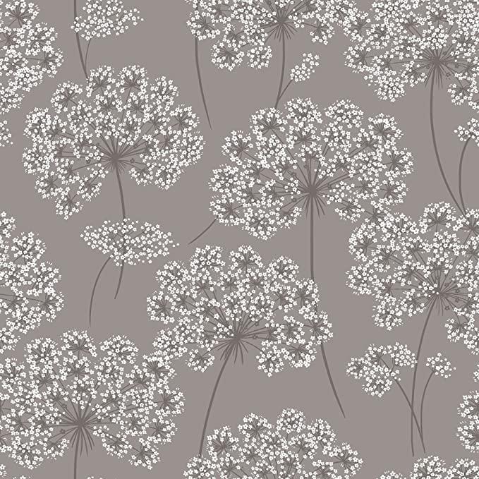 Nuwallpaper Nu1693 Peel Stick Angelica Grey Peel And Stick Wallpaper Amazon Com Nuwallpaper Peel And Stick Wallpaper Brewster Wallcovering