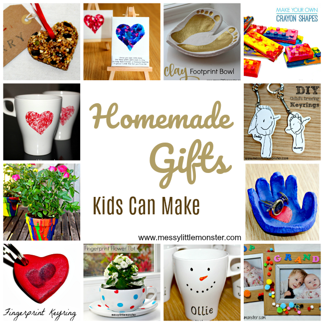 Diy Christmas Gifts From Kids: Handmade Gifts Kids Can Make