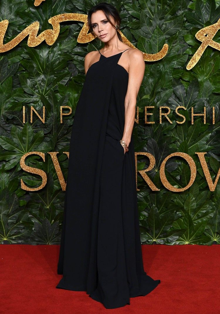 Victoria Beckham Couldn T Decide Between Pants And A Dress So She Wore Both Popsugar British Fashion Awards Victoria Beckham Dress Victoria Beckham Style [ 1071 x 750 Pixel ]