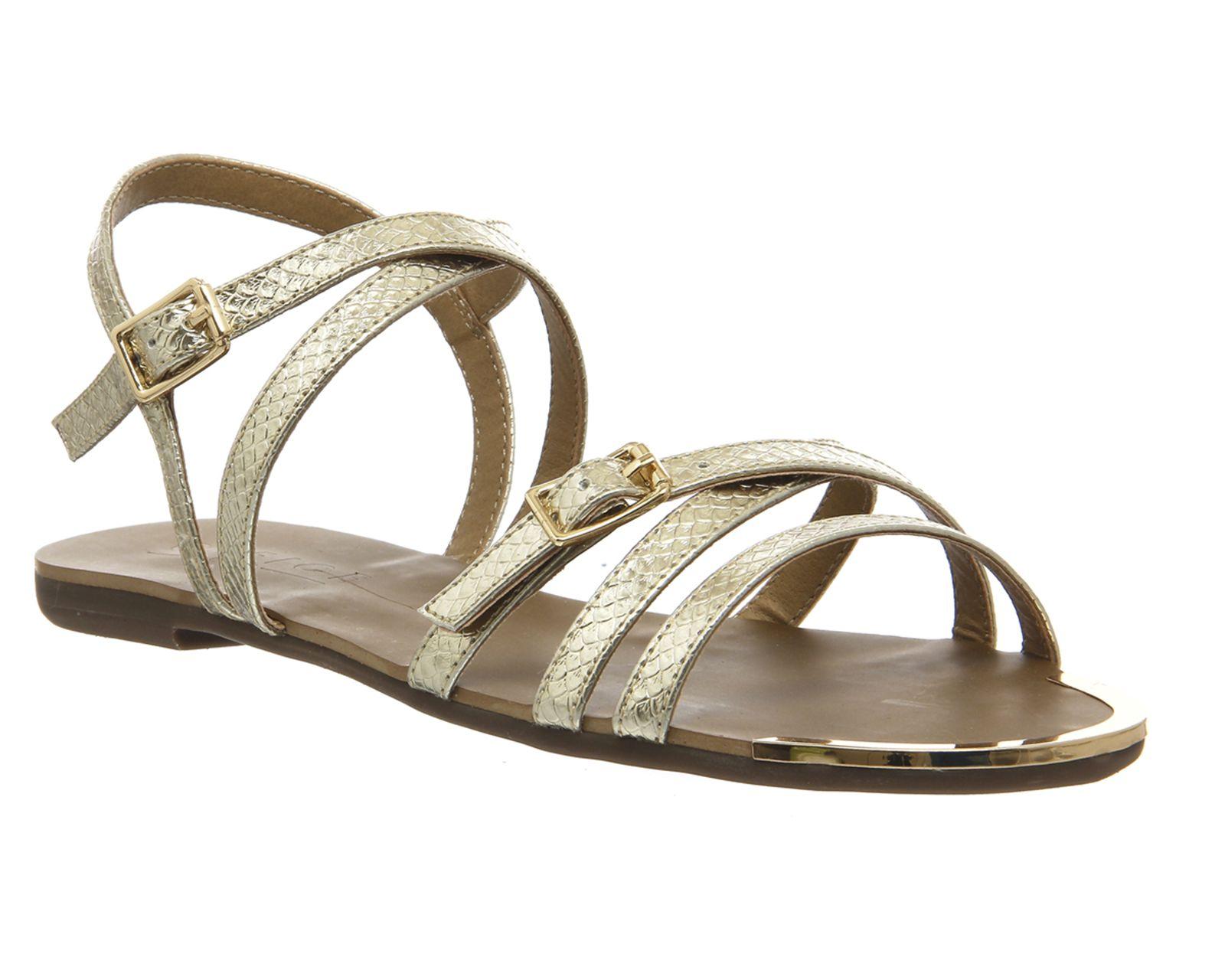 Gold Snake Office Olsen Stry Sandals From Co Uk