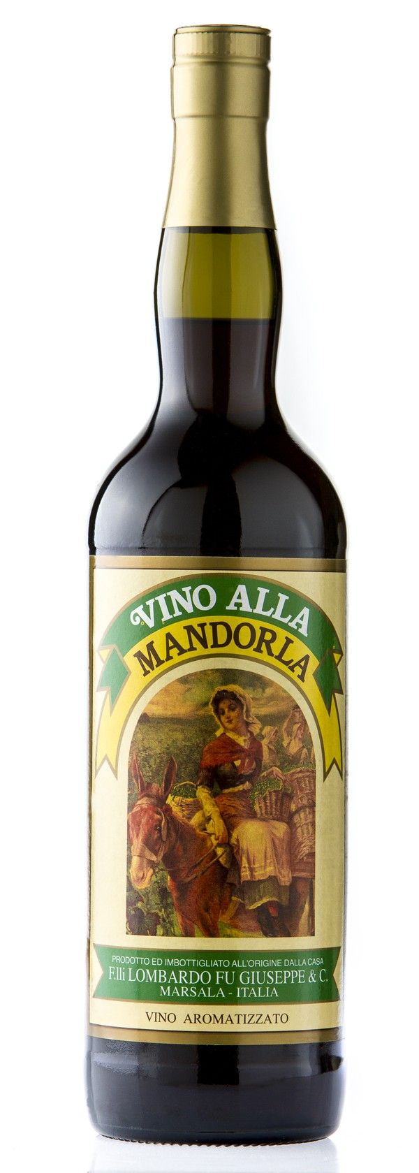 Vino alla Mandorla, made with almonds.