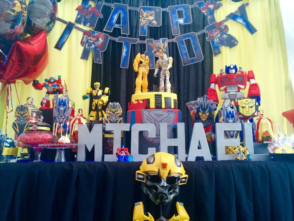 Transformers Birthday Party Ideas | Photo 1 of 22