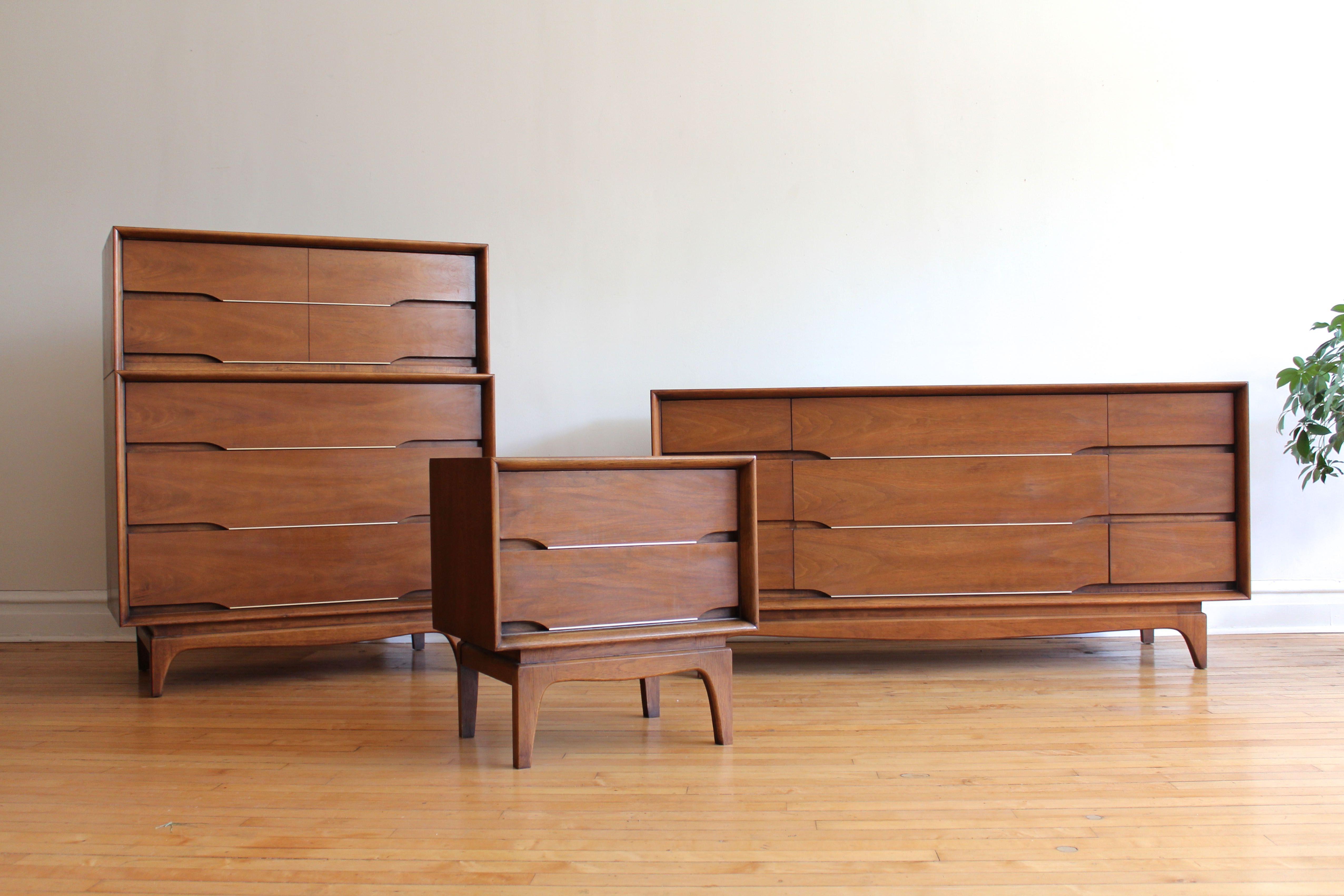 Best Mid Century Modern Kent Coffey Forum Bedroom Set With 640 x 480
