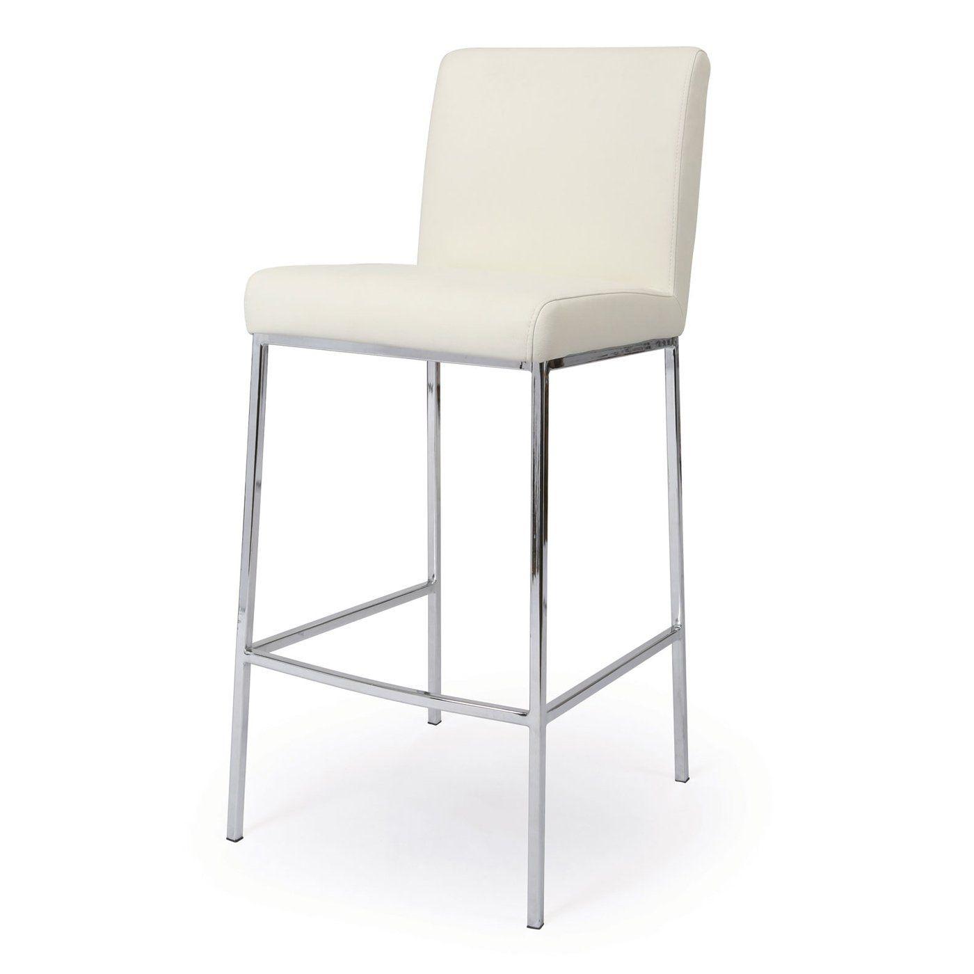 Pastel Furniture EA-210 Emilia Bar Stool, Chrome