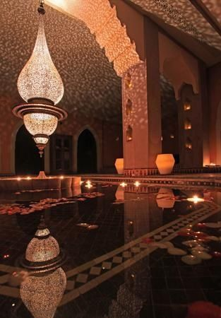 Moroccan teardrop chandelier custom made to perfection by master moroccan ar - Decoration maison arabe ...