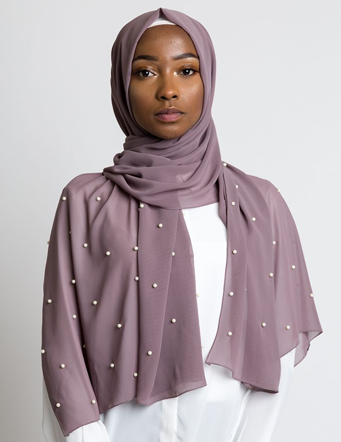 Limited Edition Pearl Chiffon Hijab Limited Edition Pearl Chiffon Hijab Hijab hijab arrafi 098