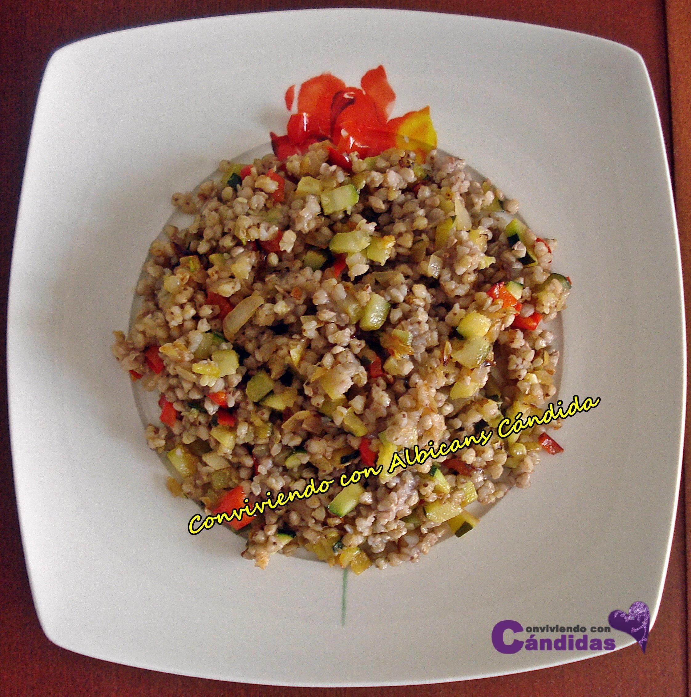 Trigo Sarraceno Recetas Cocina | Receta Con Trigo Sarraceno Espana Tapas Cocina Espanola Y