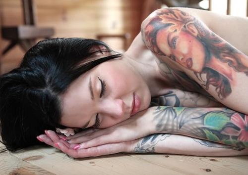 Nice portrait tattoo