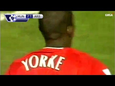 Manchester United vs Arsenal 6-1 - EPL 2000/2001 - All ...