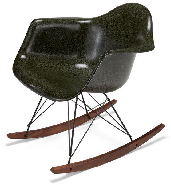 Modernica Fiberglass Rocker Shell Chair