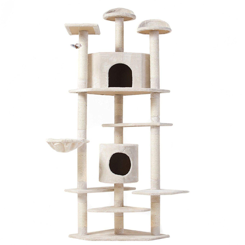 Cat tree 80 condo furniture scratching post pet cat