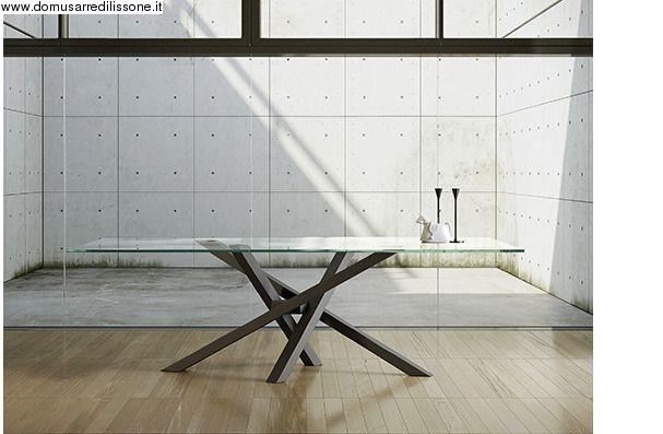 Tavolo Riflessi ~ Tavolo shangai gambe trasparenti in plexiglass tavoli da pranzo
