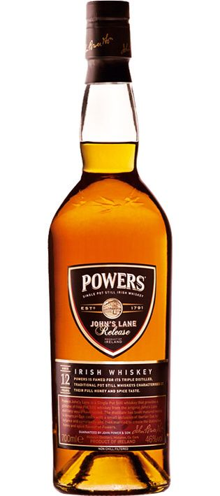 Powers John Lane 12 Year Old Single Pot Still Irish Whiskey Irish Whiskey Whiskey Best Irish Whiskey