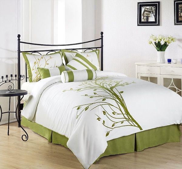 Funk'N Fresh Bedding with Leaves   Spring, Summer or Fall, You