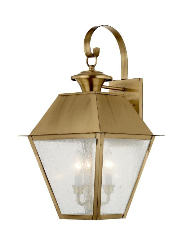 Livex Lighting 2168 Outdoor Wall Lantern Wall Lantern Livex Lighting