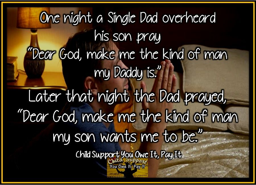 One night a Single Dad overheard his son pray | Deadbeat