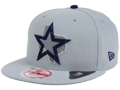 65dd56a191d83d Dallas Cowboys New Era NFL TC State Flec 9FIFTY Snapback Cap ...