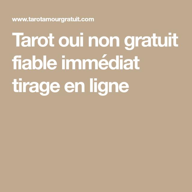 Tarot oui non gratuit fiable immédiat tirage en ligne   consultation ... 2127ebc3ccd9
