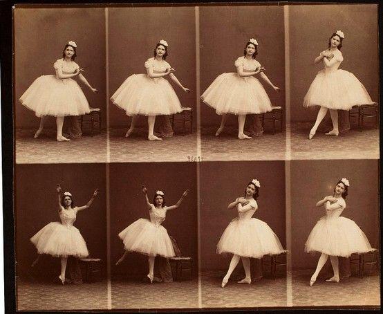 Andr Adolphe Eugne Disdri Carte De Visite Ballerine Vintage Danse Danseurs