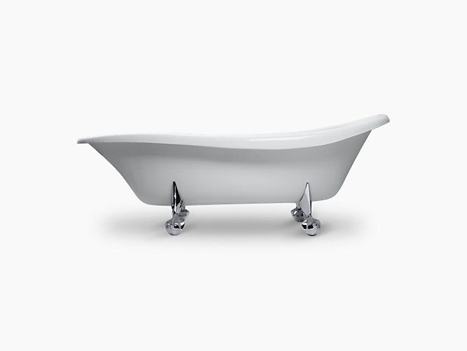 Return To The Classically Beautiful Style Of The K 100 Freestanding Birthday Bath Commemorating A Century Of Kohler Pl Free Standing Bath Claw Foot Bath Kohler