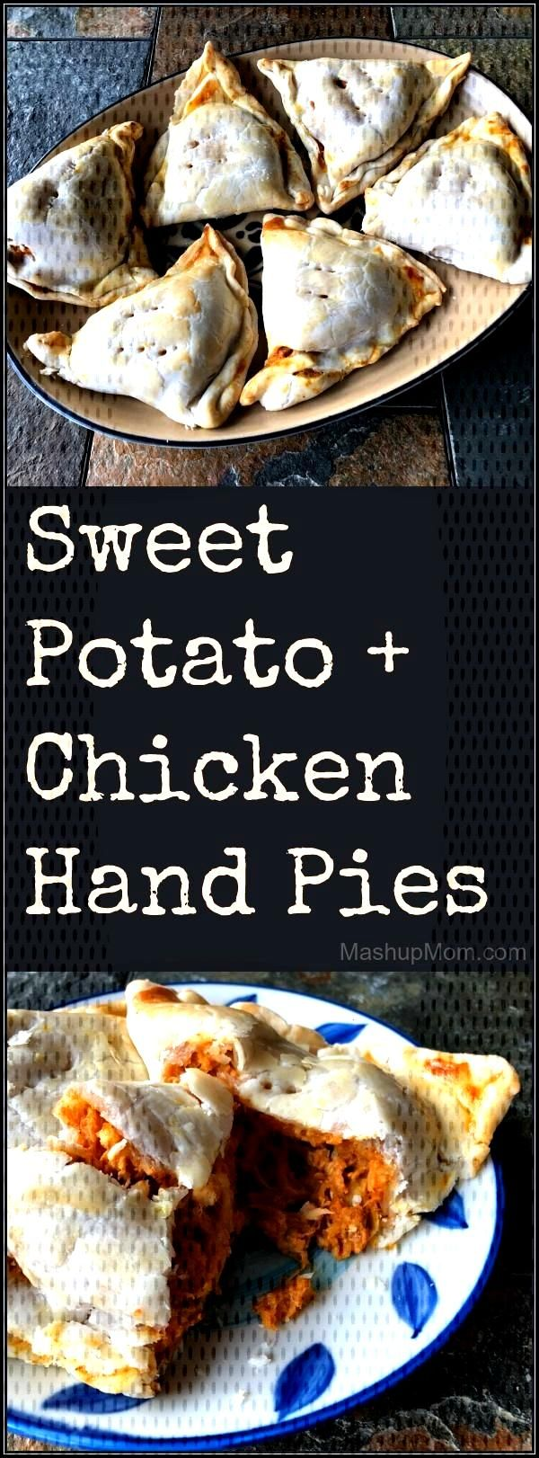 Sweet Potato + Chicken Hand Pies,