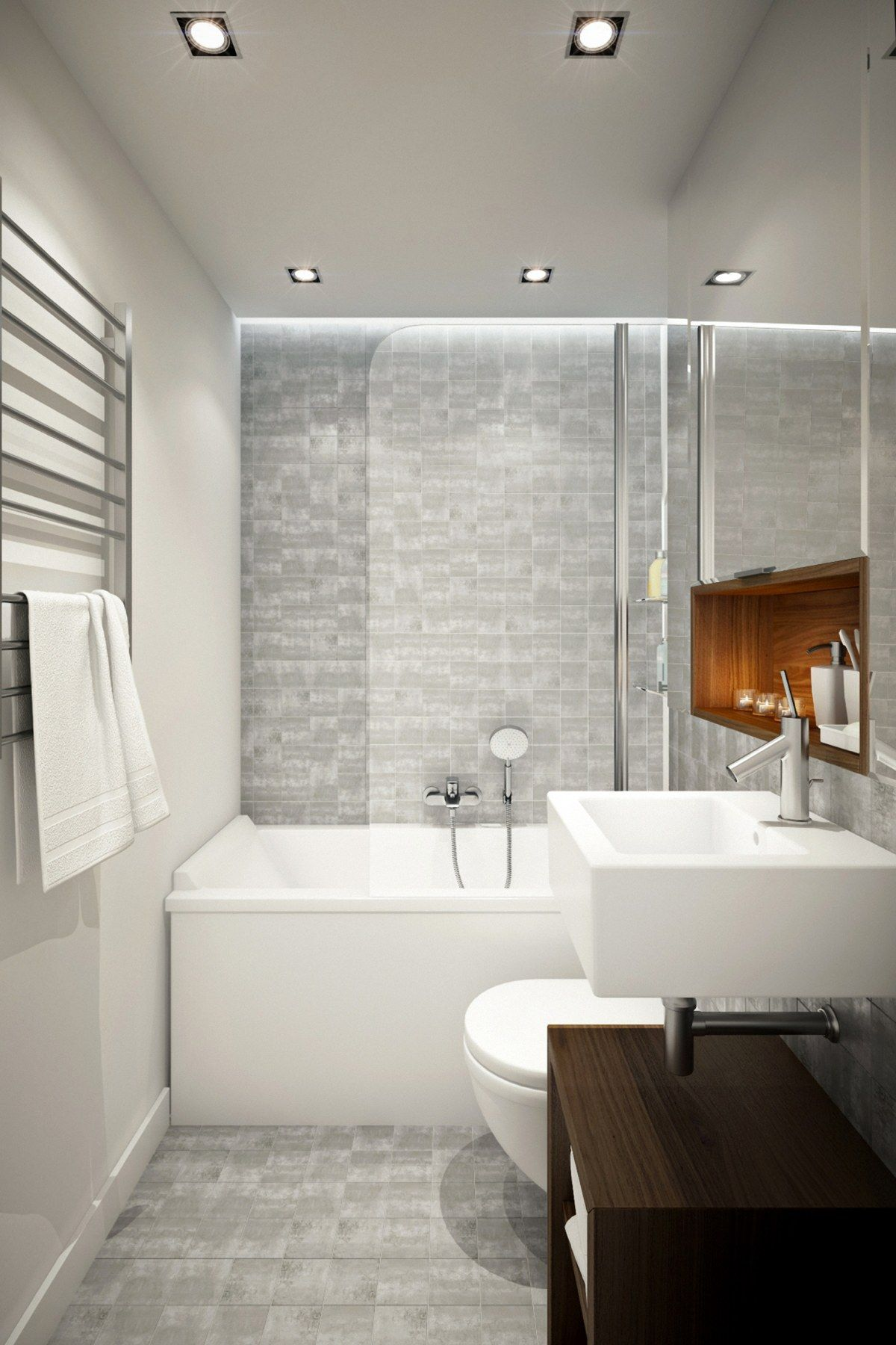 Gorgeous Bathroom Design Ideas Looks So Trendy Which Combined With a ...
