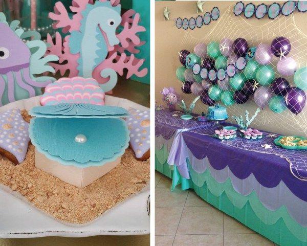 Ideas para fiestas la sirenita ariel 18 fiesta sirenita for Ideas para quinceaneras