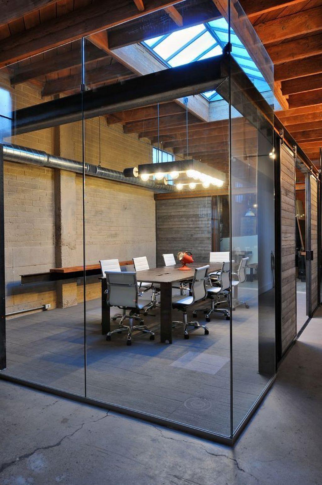 40 Elegant Open Ceiling Office Design Ideas Office Furniture