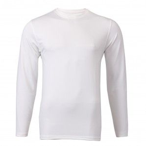 Special Price   36 Men s White Long Sleeve Shirt - Plain Chest Cruise your  way to success with ultimate versatility. This timeless long sleeve  performance ... 353a5dd040a