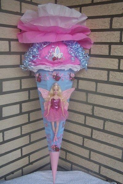 Schultüte Barbie Prinzessin Schule Schultüte Und
