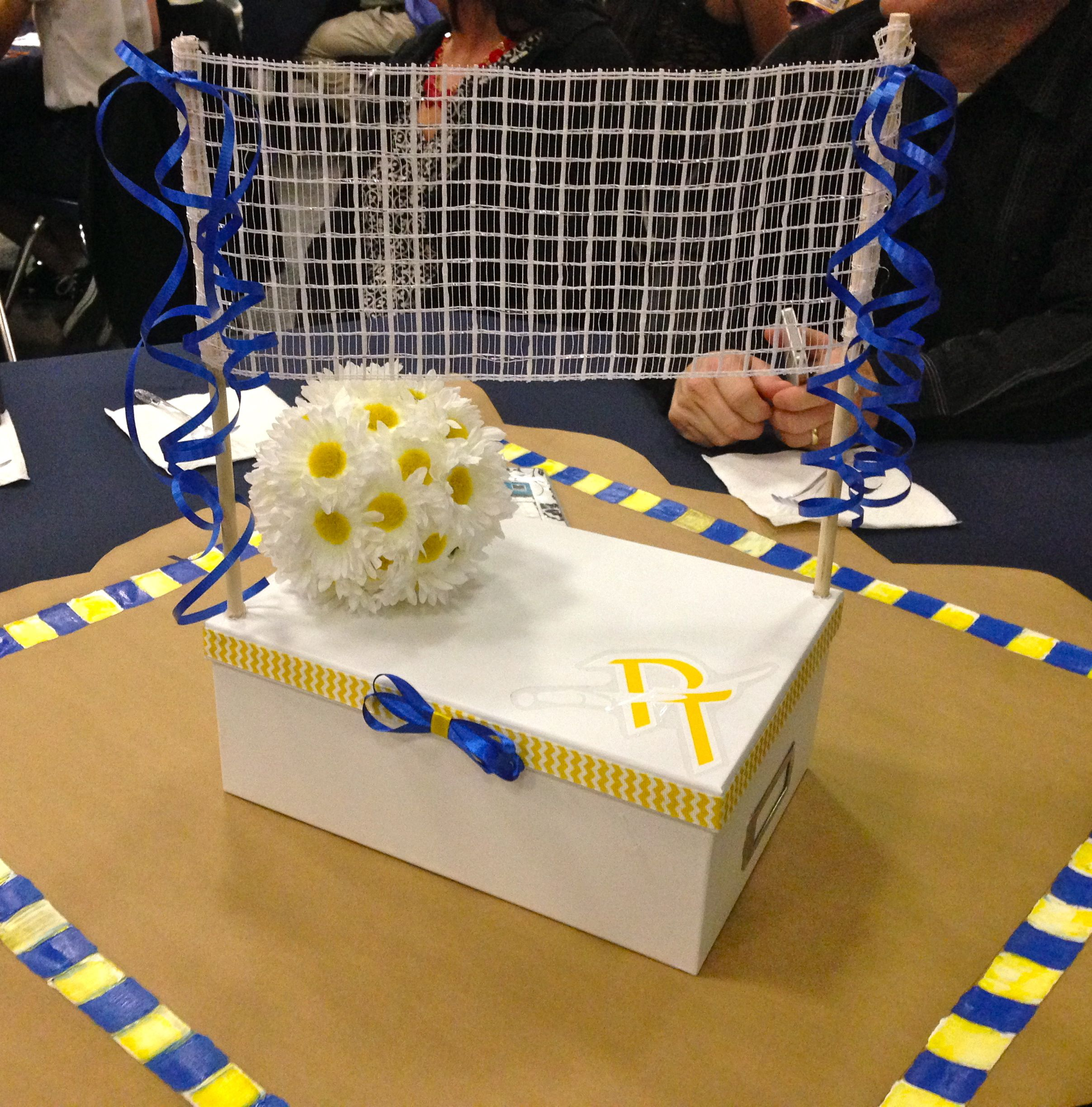 Volleyball Party Decorations Volleyball Table Decorations Volleyball Pinterest Volleyball